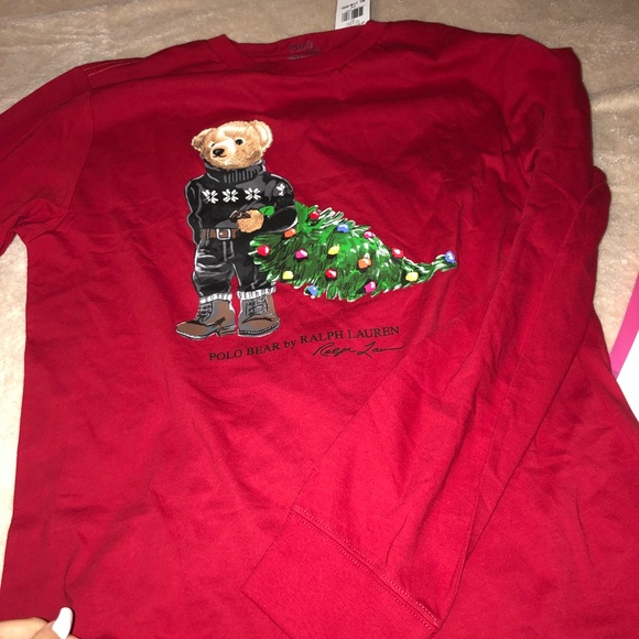 Shirt Lauren Ralph Polo Bear EditionNwt T Limited mnNy0Pv8wO